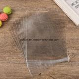 Customzied transparente BOPP Dom plástico bag / LDPE rectângulo transparente Violoncelo Saco com Self-Adhesive Clara