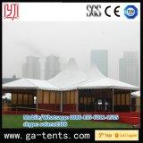 大きく贅沢な展示会のテント