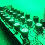 Piscina DMX 54X3W 3IN RGB1 PAR LED pode iluminação de palco