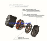 El ventilador del condensador Tractor agrícola Spal VA07-AP12c-58s