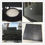 Granito natural de la galaxia del negro de la piedra de China para el azulejo, losa, encimera, tapa de la vanidad