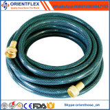 Souples renforcés de fibres de l'Irrigation de l'eau tuyau en PVC tressé