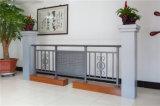Balcon en acier galvanisé décoratif de haute qualité 4 de clôture d'alliage d'aluminium