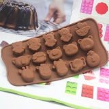 Muffe a gettare della torta di /Silicone della torta del silicone degli strumenti di cottura di natale