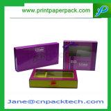 Produits de beauté pliables estampés par mode empaquetant la boîte-cadeau magnétique de fermeture de cadre