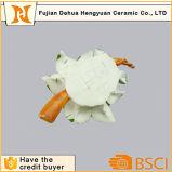 Fiore artificiale di ceramica dell'ornamento del fiore della porcellana piccolo