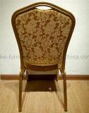 Banquet de mariage de l'hôtel en aluminium chaise avec siège de flexion
