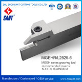 Резцы для проточки канавок Mgehr2525-6 CNC Toolholder поверхностные сопрягали вставки ISO