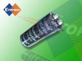85c condensadores electrolíticos de aluminio de terminales de tornillo 56000Tmce UF21
