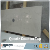 Countertop кварца Bianco Carrara белый в оптовой продаже