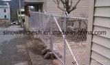 La INMERSIÓN caliente galvanizó la cerca temporal cubierta PVC soldada de la conexión de cadena del acoplamiento de alambre