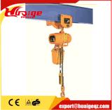 1 Tonnen-hochwertige elektrische Kettenhebevorrichtung mit Haken-örtlich festgelegtem Typen