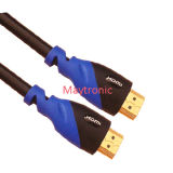 1.4 câble à grande vitesse de HDMI avec l'Ethernet pour 3D/4k