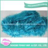 Tipi di filati di seta acrilici di prezzi della tessile dei filati del commercio all'ingrosso dell'ovatta di nylon poco costosa di immaginazione