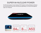 заводская цена T96 PRO 3ГБ GB Amlogic+16S912 Octa-Core Android 6.0 телевизор в салоне с Circule светодиодный индикатор и подсветки дисплея