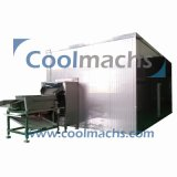 Bewegliche Böe-Gefriermaschine/Böe-Gefriermaschine für Nahrungsmittelobst- und gemüse-Böe-Gefriermaschine