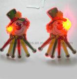 Fördernde Geschenke LED leuchten Abzeichen mit Firmenzeichen Peinted (3161)