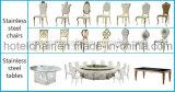 Mobiliário de jantar Cadeira de jantar de casamento de metal de borboletas (LH-606Y)