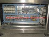 Drehfüllmaschine mit Inline-Nachwieger