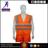 高品質の安全安く反射ベスト、編む反射安全ベスト