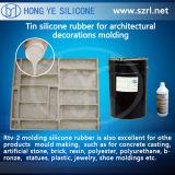 Caoutchouc de silicones de moulage pour la production culturelle de pierres