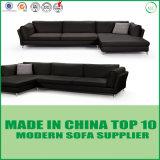 Nuevo sofá Divaani de la pluma del cuero de la sala de estar de la llegada