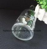 frasco de vidro do licor 400ml sem chumbo transparente