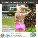 Bikini caldo su ordinazione dei costumi da bagno di vendita 2016 con la nuotata delle donne di colore