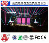 Módulo ao ar livre portátil da tela P4/indicador de diodo emissor de luz Rental do vídeo de cor cheia para eventos e mostras do estágio