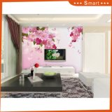 Romatic Rose Petal Wallpaper Belle peinture à l'huile de fleur de rose