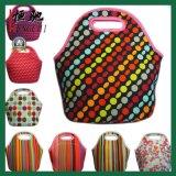 Progettare il sacchetto per il cliente del dispositivo di raffreddamento del pranzo del neoprene della maniglia del Tote