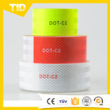 白く赤い反射テープ3つのM