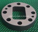CNC personalizado da elevada precisão que faz à máquina a parte de aço anodizada