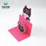Tarjeta del arte de papel de impresión regalo / tarjeta de cumpleaños (con el sobre)