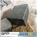 Commerce de gros cailloux de basalte de fractionnement de pierre naturelle Interlocking Paving Stone pour passerelle