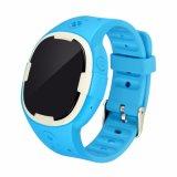 Colorido reloj GPS Tracker para niños, botón de SOS, la comunicación bidireccional (GPT18)