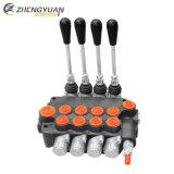 Monobloque hidráulico válvula de control direccional con 80L/M P80 de flujo