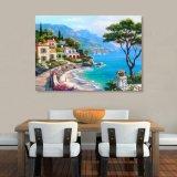 A pintura impressa Inkjet do beira-mar para a decoração Home