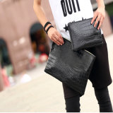 Wholesale Hot and Recommend 2016 Suede Envelope Clutch Bag para Mulheres (9562)