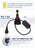 Faro de LED de alta calidad con el lastre de xenón HID 35W LED y faros de coche COB Soucre Fábrica (6000K H1 H3 H7 H11 H4 de 880 881 9006 9005)
