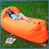 Saco de sono preguiçoso de acampamento do sofá do ar do sono com capa