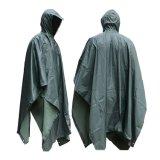 防水ポリエステルカムフラージュPVC Rainwearをカスタマイズしなさい