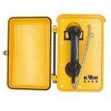 Telefone áspero do ponto de entrada do IP do telefone do telefone Autodial impermeável ao ar livre do telefone do SOS