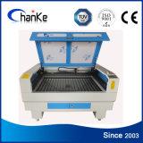 Machine de découpage en plastique de laser de tissu en cuir Ck1290