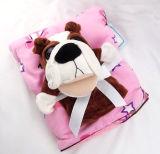 장난감 - Pug를 가진 산호 양털 아기 담요