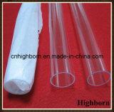 Tubo di vetro fuso di vendita superiore del quarzo del silicone dell'ozono liberamente
