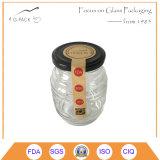 300mlは金属の帽子、ピクルスの容器が付いている瓶をピクルスにする