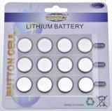 batteria di litio delle cellule del tasto di 3V Cr2032 Cr2025 Cr2016 con Ce Un38.3 per il giocattolo