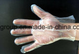 Sicherheit Wegwerfplastik-PET Handschuhe