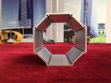 Profil en aluminium de anodisation d'extrusion de vente d'usine pour le poste de lampe